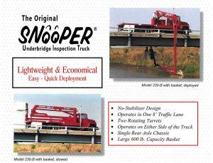 Snooper Series 230 • Paxton-Mitchell Snooper Truck