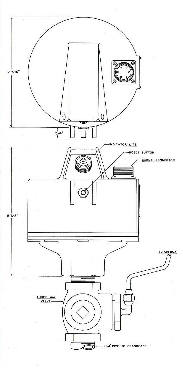 Paxton-Mitchell Co., LLC - Model 120 P-M engine protector